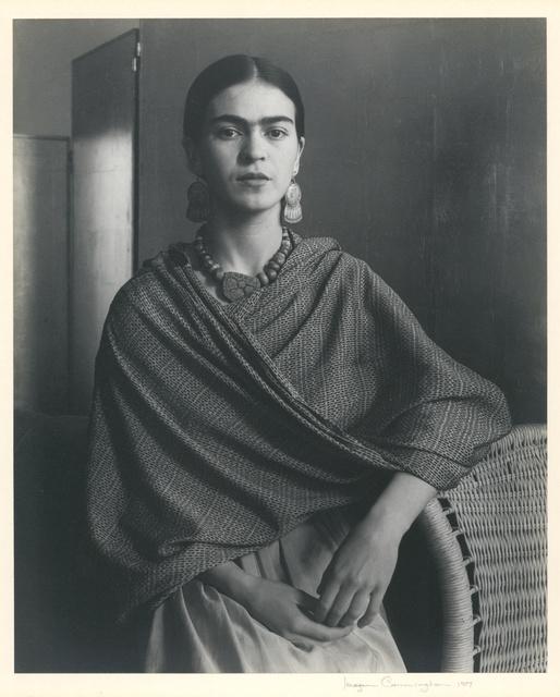 , 'Portrait of Frida Kahlo,' 1937, Charles A. Hartman Fine Art