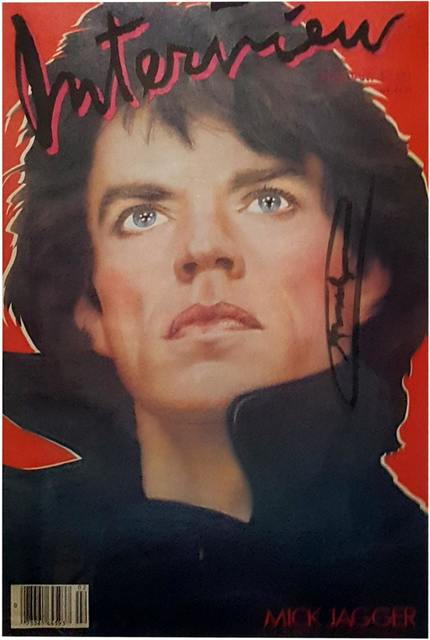 Andy Warhol, 'Interview Magazine (Mick Jagger Cover)', February 1985, Artsnap