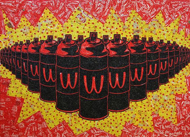 , 'Hypnotic Troops,' 2015, Disruptive Canvas