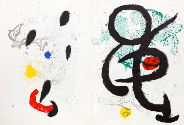 Joan Miró, 'Composition I & II from Derrière le Miroir ', 1965, RoGallery