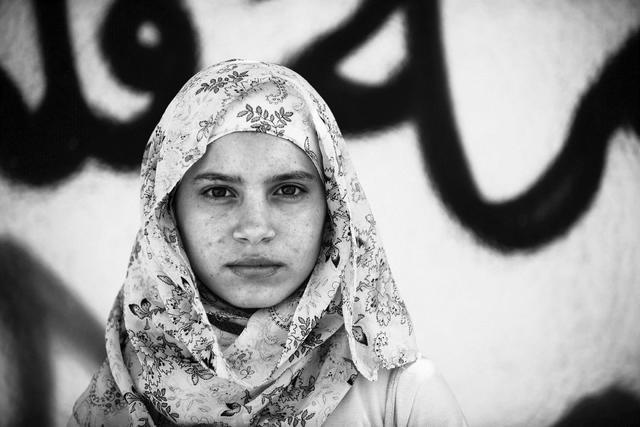, 'Tomorrow's Woman, Gaza City,' 2011, Q0DE