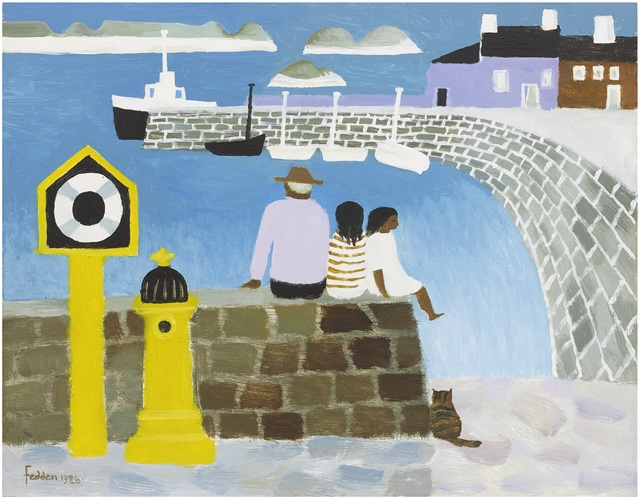 , 'In the Harbour ,' 1986, Portland Gallery