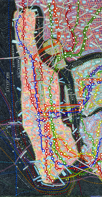 , 'NYC Transit,' 2008, Jim Kempner Fine Art