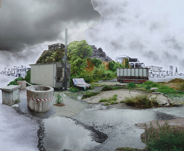 , 'Paesaggio in divenire II,' 2014, Alberto Peola