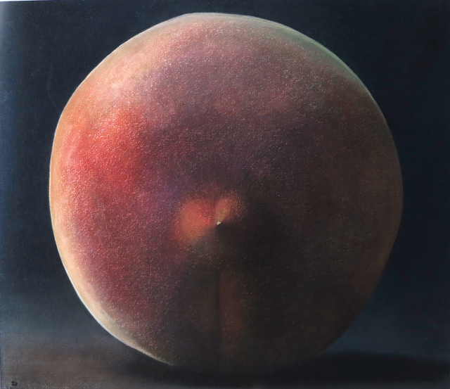 ", '""Peaches on A Black Background"" / ""Siyah Fon Üzerinde Şeftaliler"",' 2008, Galeri 77"
