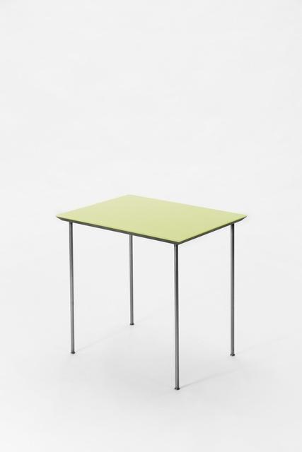, 'Beistelltisch (gelb),' 2004, Galerie Elisabeth & Klaus Thoman
