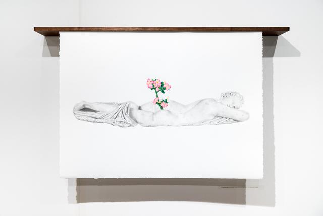 , 'Les noces du temps et de la lumière,' 2017, Projet Pangée