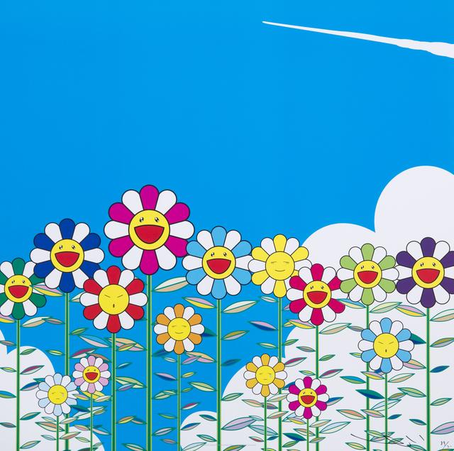 Takashi Murakami, 'Flower', 2011, Julien's Auctions