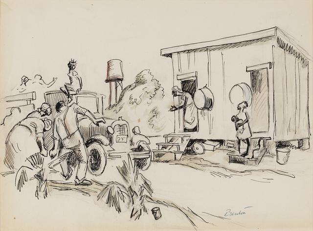 , 'Missouri Sharecroppers ,' 1928, Greg Thompson Fine Art