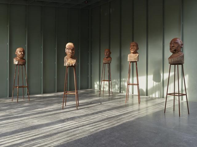 , 'Gueules cassées,' 2014, Middelheim Museum