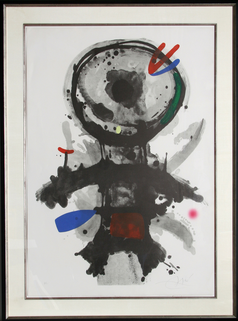Joan Miró, 'L'Ange Crible', 1973, RoGallery
