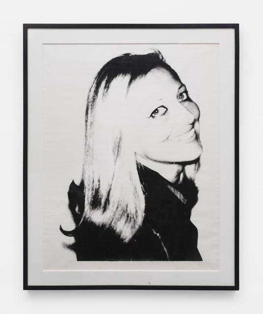 Andy Warhol, 'Society Portrait, A 164.046', 1974, Gavlak