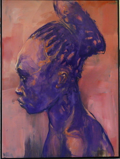 , 'Mangbetu 5,' 2014, Galerie Klose