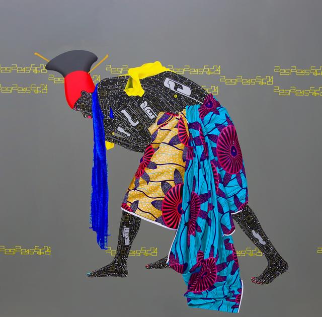 Eddy Kamuanga Ilunga, 'No identity, no evolution  ', 2015, October Gallery