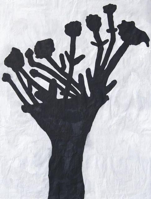 Donald Baechler, 'Black Flower Redux #5', 2011, Bohman-Knäpper
