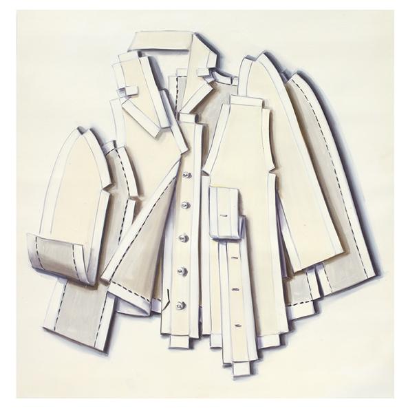Lisa Milroy, 'Detached', 2012, Parasol unit foundation for contemporary art