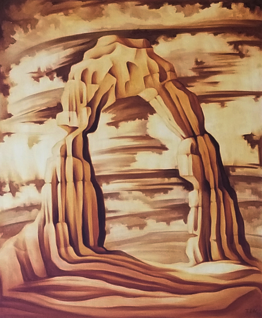 , 'Delicate Arch,' , Modernist Frontier