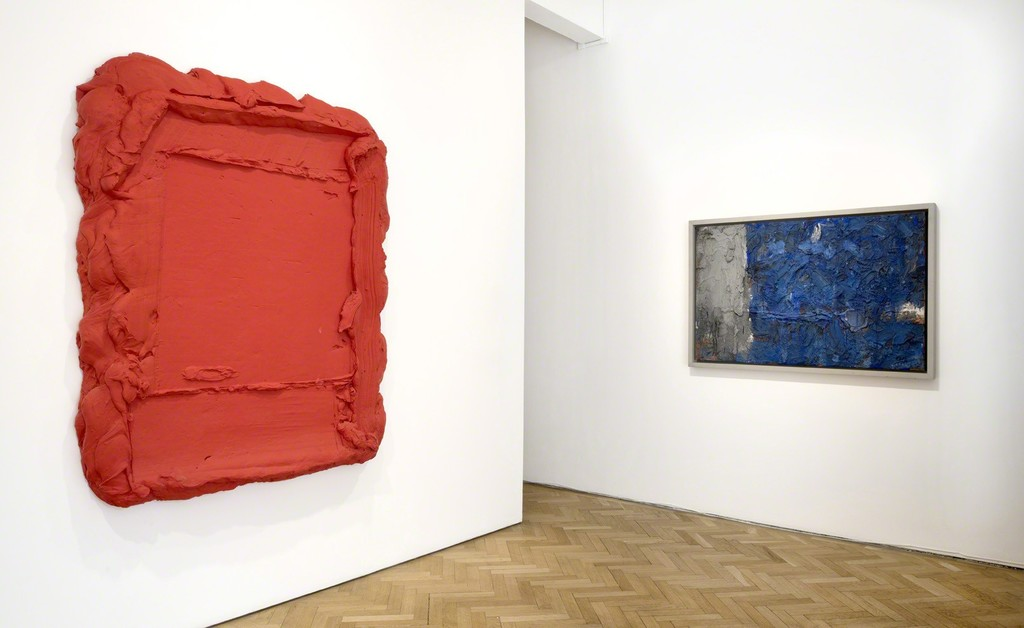 Bram Bogart, Rode Rouge, 2008 and L'Enfant Bleu , 1959
