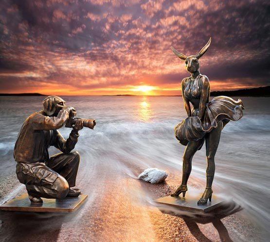 , 'Happy Birthday Mr President xo Westfield Bondi Junction, Sydney,' , Gillie and Marc Art Gallery