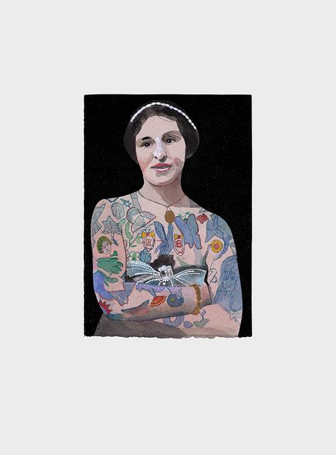 , 'Tattooed People, Emily,' 2015, Joanna Bryant & Julian Page