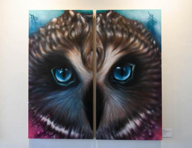, 'Night Owl,' 2017, EWKUKS