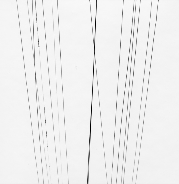 , 'Telephone wires,' 1945-1976, Pace/MacGill Gallery