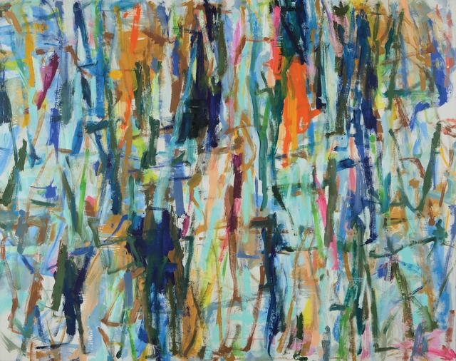 Kikuo Saito, 'Blue Ladder II', 2014, Octavia Art Gallery