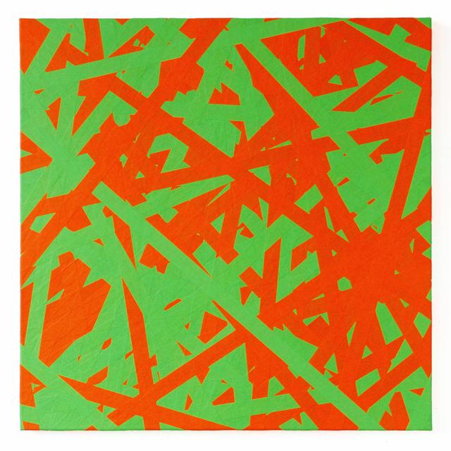 , 'SIGNAL (green & orange),' 2018, Brigitte March International Contemporary Art