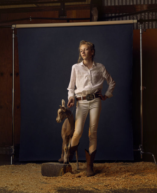 , 'Kenzie and Hootie, Anoka County Fair, Minnesota, 2016,' 2016, KLOMPCHING GALLERY