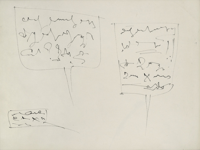 Gil J. Wolman, 'La bande à Canson', 1962, Galerie Natalie Seroussi