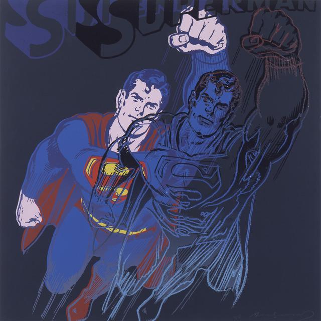 """Andy Warhol, 'Superman from """"Myths"""" portfolio', 1981, Ronald Feldman Gallery"""