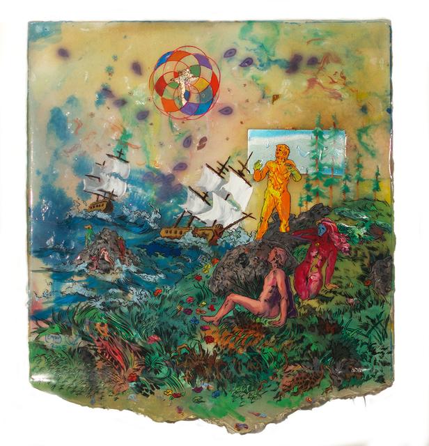 , 'Ship Wrecked,' 2016, Gallery Victor Armendariz