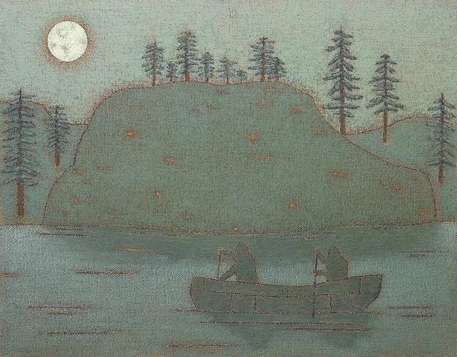 , 'Wolf Lake,' 2014, Taymour Grahne