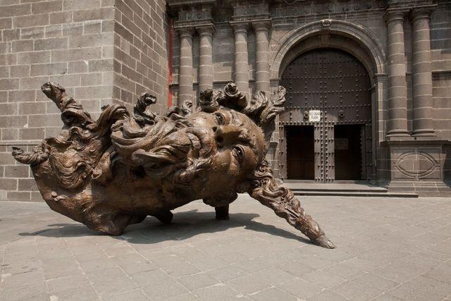 , 'Cabeza Vainilla,' 2008, Terreno Baldío