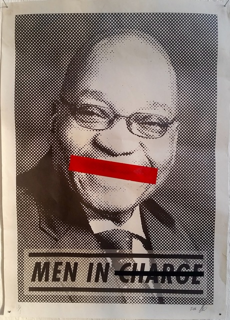 , 'Men In Charge,' 2016, Museum of African Design (MOAD)