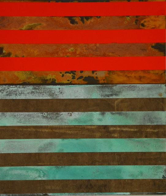 , 'Vermelha para cobre, ,' 2016, Diana Lowenstein Gallery