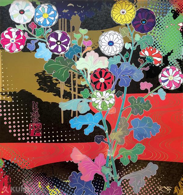Takashi Murakami, 'Korin: Dark Matter', 2015, Print, Offset Lithograph, Kumi Contemporary / Verso Contemporary