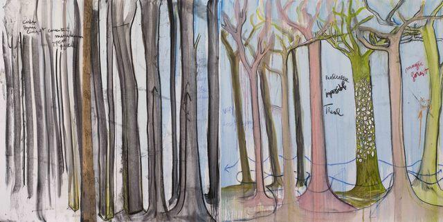 , 'L'impossible forêt,' 2017, Galerie Nathalie Obadia