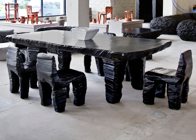 , 'Poly Dining Set,' 2010, Johnson Trading Gallery