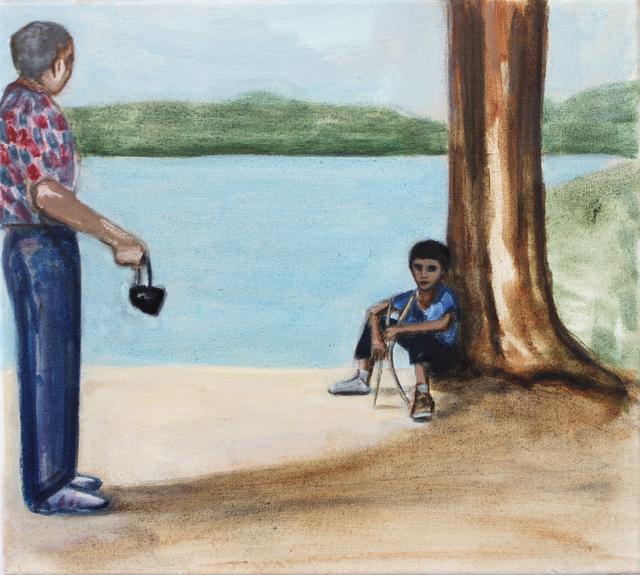 Matthew Krishanu, 'Forest Lake', 2019, Painting, Oil on canvas, Jhaveri Contemporary
