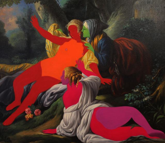 , 'Yüzsüzler Serisi - Faceless Series,' 2015, Anna Laudel