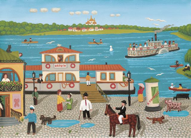 , 'Kaluga Dock,' 2007, GINA Gallery