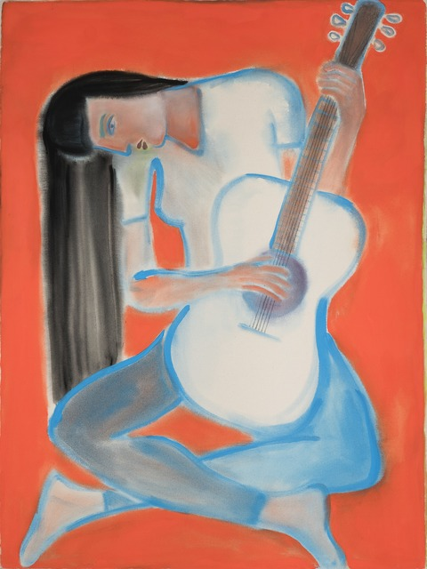 , 'Blue Guitar,' 2015, Alter Space
