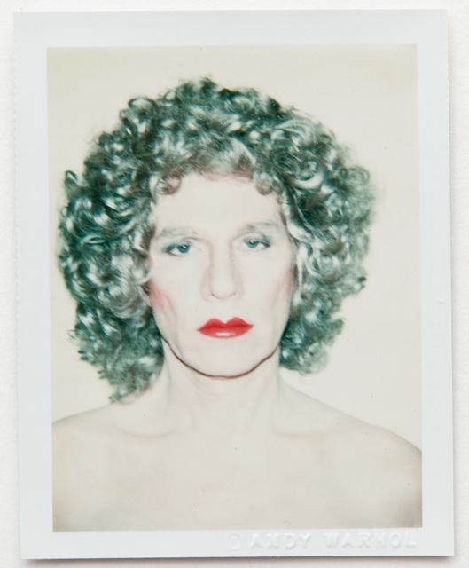 Andy Warhol, 'Andy Warhol, Polaroid Self-Portrait in Drag, 1981', 1981, Hedges Projects
