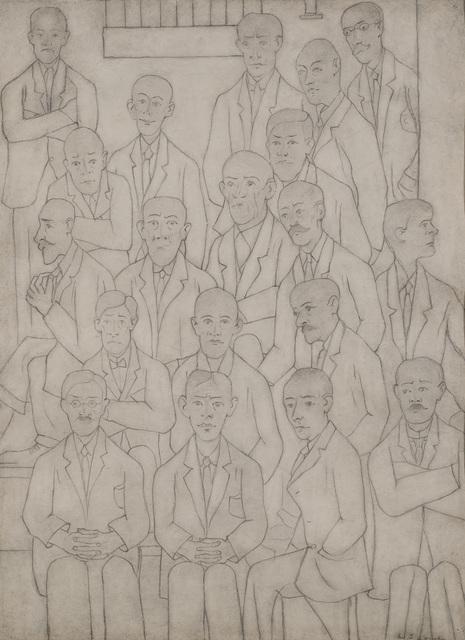 , 'Men at a Meeting,' , Crane Kalman Gallery