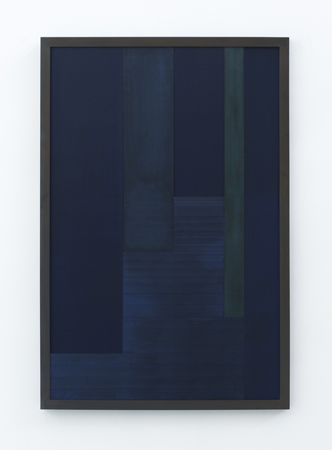 , 'Sintropic Maze - series I (Corner 7) - Blue,' 2016, Zipper Galeria