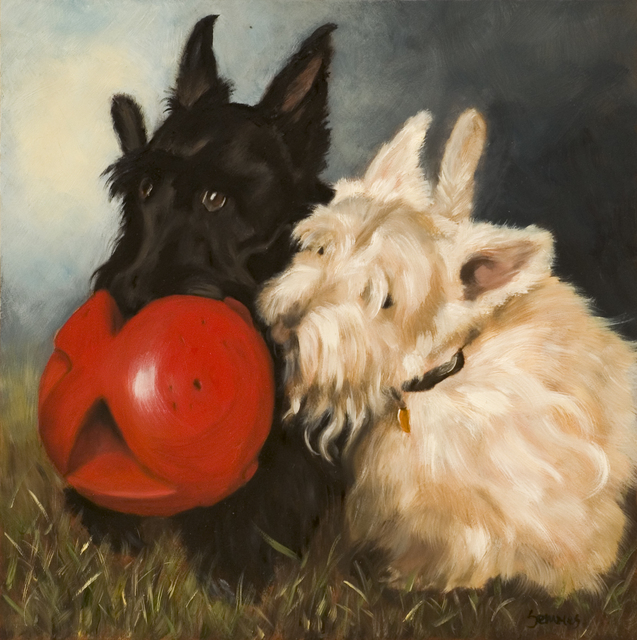 , 'Soccer Scotties II,' 2006, Dog & Horse Fine Art