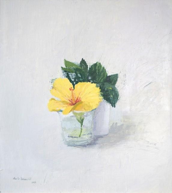 , 'Realism - flower still life - Oil on panel - flower,' 2018, PontArte