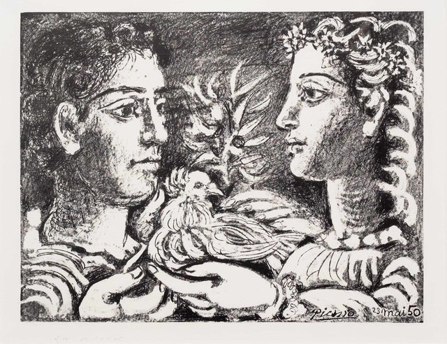 Pablo Picasso, 'Youth', 1950, Leslie Sacks Gallery