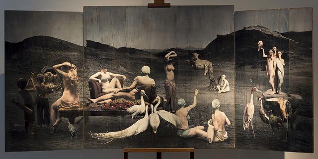 , 'Bañistas,' 2016, Barro Arte Contemporáneo